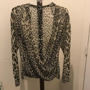 Kenneth Cole polyester blouse